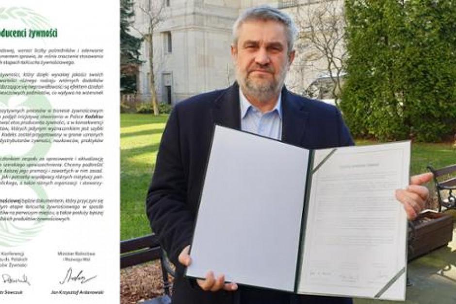 MRiRW prezentuje Kodeks Etyki Żywnościowej