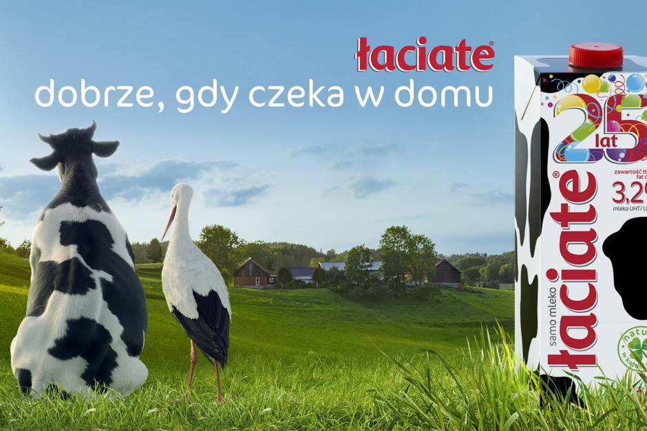 Łaciate w nowej kampanii na 25-lecie najbardziej rozpoznawanej marki mleka w Polsce