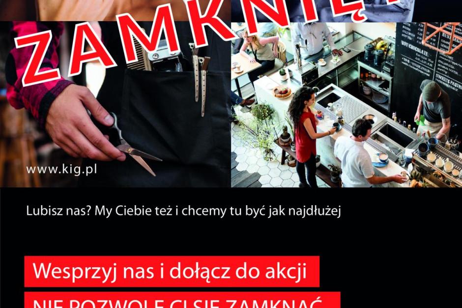 Kampania KIG Nie pozwolę ci się zamknąć – wspieramy mikroprzedsiębiorców