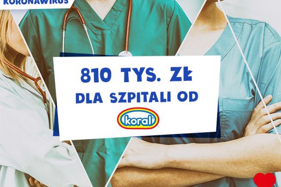 PPL Koral przekazuje ponad 800 tysięcy złotych na walkę z koronawirusem