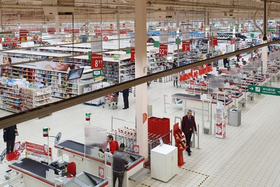 Auchan: Zapewniamy płynność sprzedaży i bezpieczne warunki zakupów