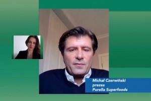 Prezes Purella Superfoods: szykujemy się już na czasy po pandemii, szukamy swoich szans (wideo)
