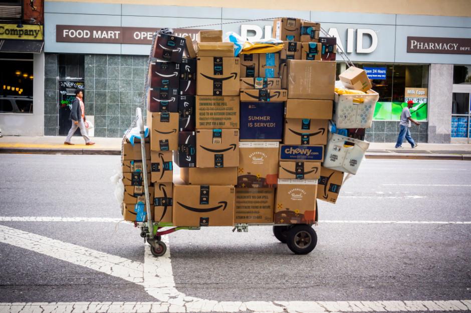 Amazon zawiesza swój serwis kurierski dla zewnętrznych firm