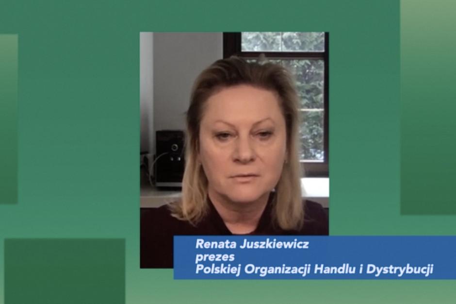 Prezes POHiD: Limity klientów i zapewnienie rękawiczek to ogromne wyzwanie dla sieci handlowych (wideo)