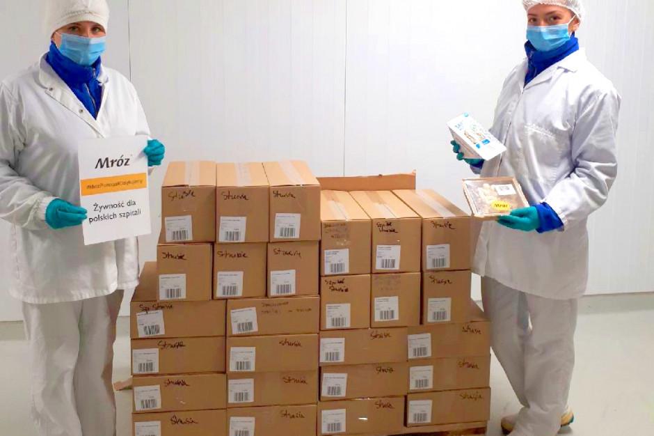 Grupa Mróz przekazuje dania gotowe poznańskim szpitalom
