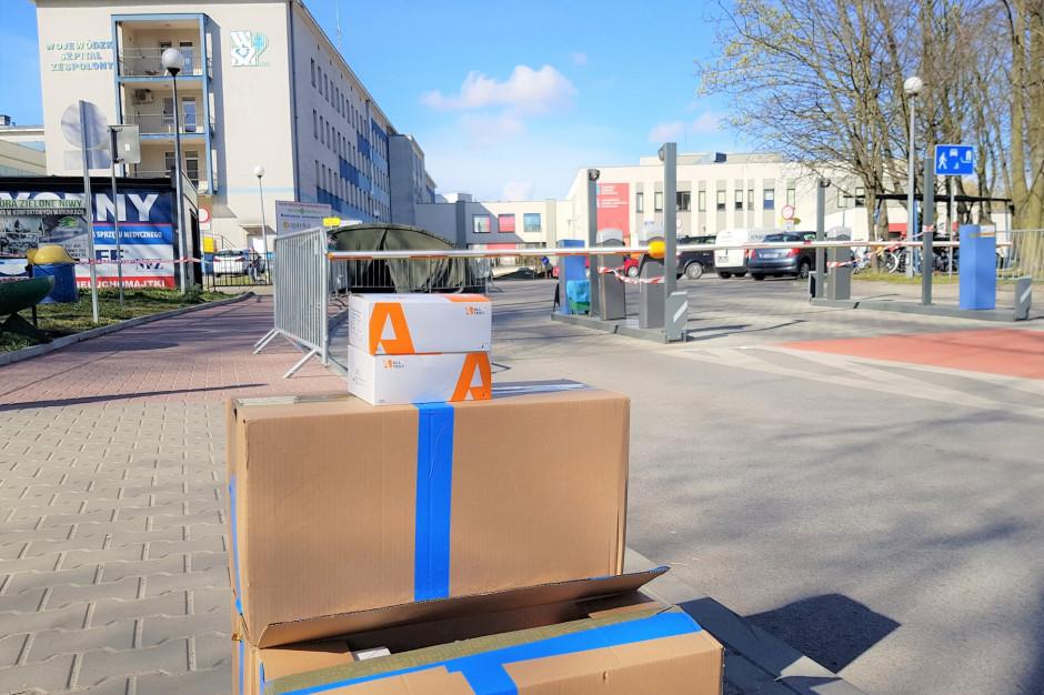Vaping Association Polska przekazało 1000 szybkich testów na koronawirusa dla kieleckiego szpitala