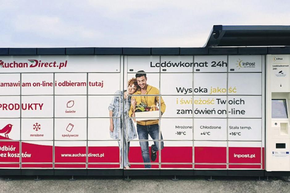 InPost rusza z projektem lodówkomatów przy sklepach Auchan