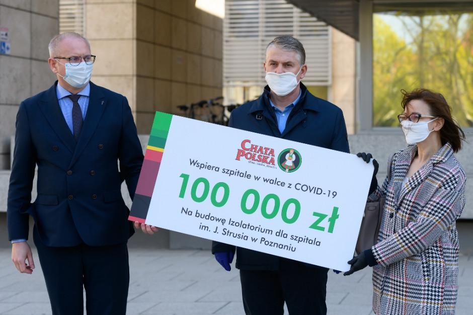 Chata Polska przekazuje pół miliona złotych dla wielkopolskich szpitali