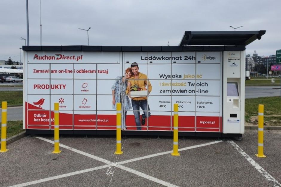 InPost dostarczy zakupy z Auchan