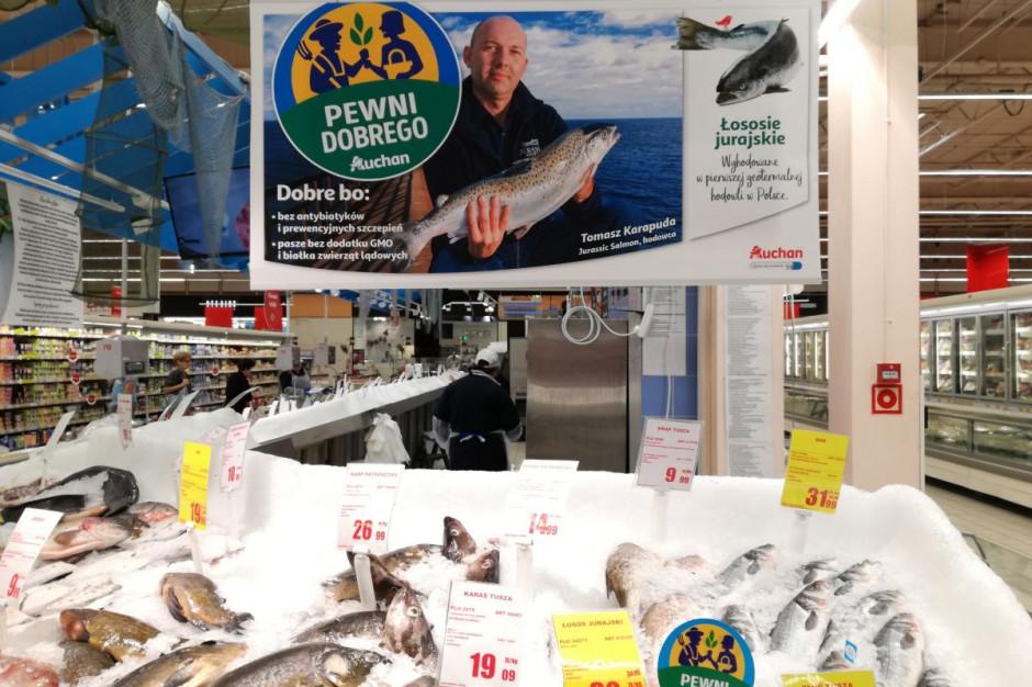 Auchan stawia na markę własną Pewni Dobrego