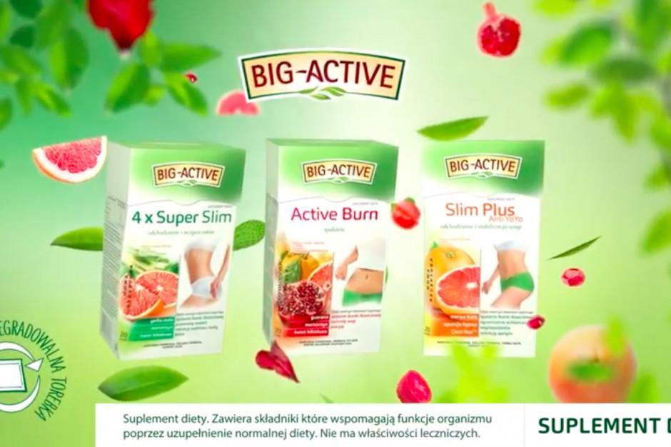 Trwa kampania herbatek funkcjonalnych marki Big-Active