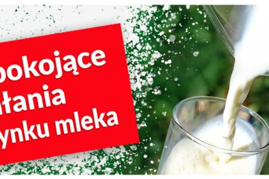 MRiRW w trosce o polskich dostawców publikuje listę zakładów sprowadzających mleko i jego przetwory z zagranicy