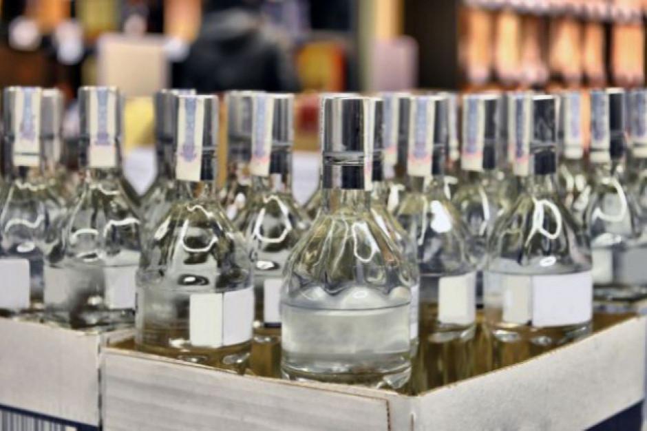 Produkcja wódki mocno spada, po marcu spadek sięgnął prawie 9,0 proc.