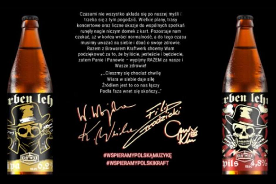 Browar Kraftwerk w ramach wsparcia dla muzyków uwarzył piwo dla zespołu Farben Lehre