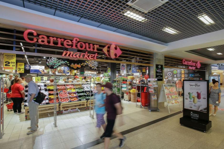 Carrefour w miejsce Tesco w Magnolia Park we Wrocławiu
