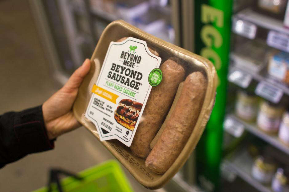 Beyond Meat korzysta na problemach branży mięsnej w USA