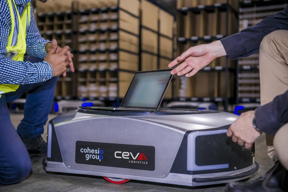 CEVA Logistics wdraża mobilne roboty dla e-commerce