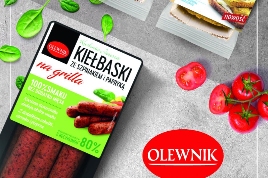 ZM Olewnik poszerzają portfolio na grilla o produkty wegetariańskie