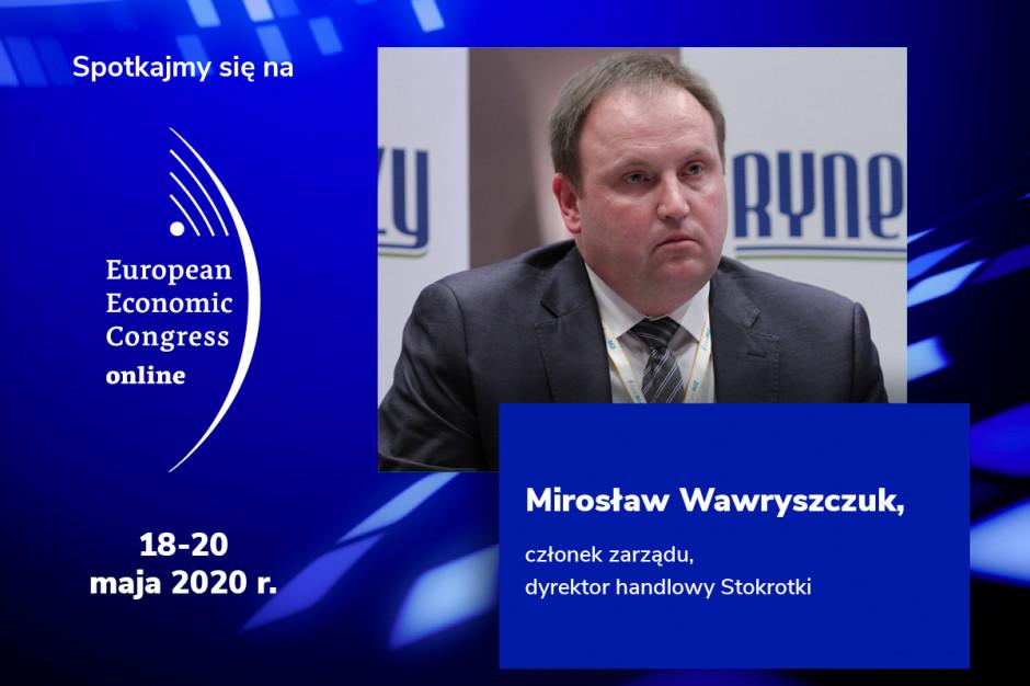 Mirosław Wawryszczuk, Stokrotka, prelegentem EEC Online