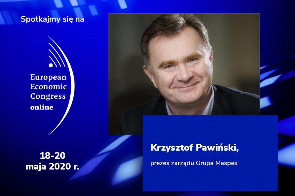 Krzysztof Pawiński, prezes zarządu Grupy Maspex, prelegentem EEC Online