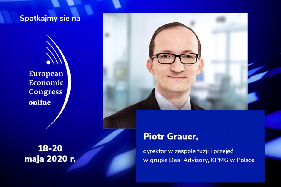 Piotr Grauer, KPMG, prelegentem EEC Online