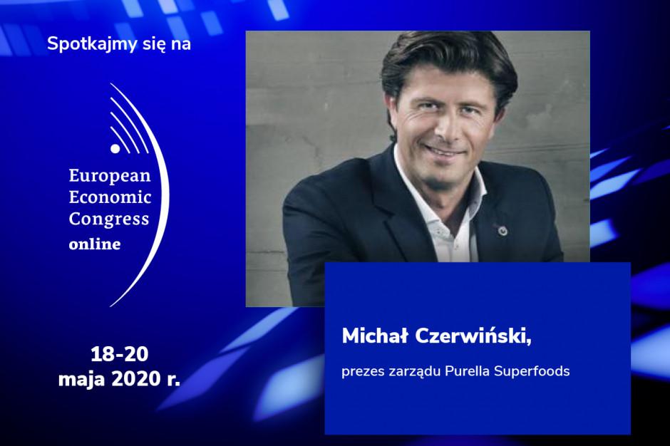 Michał Czerwiński, prezes Purella Superfoods, prelegentem EEC Online