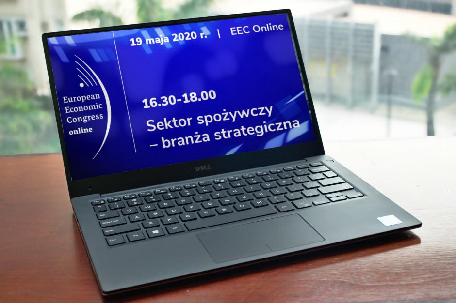 EEC Online:Sektor spożywczy – branża strategiczna. Zapraszamy do zadawania pytań na czacie!