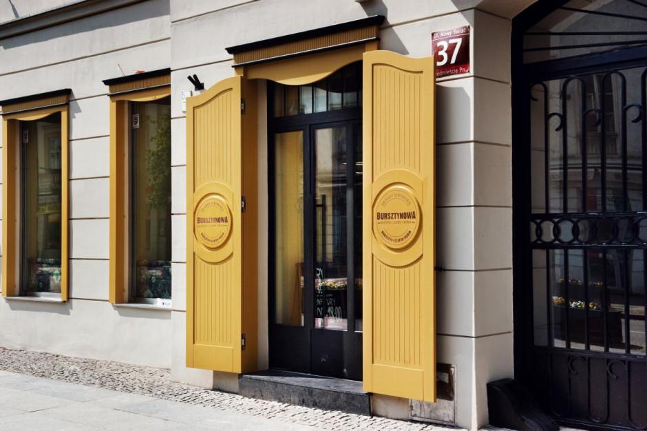 Spomlek otworzył lokal w Warszawie - Bursztynowa bistro (galeria)