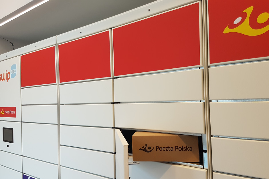 Poczta Polska: dynamiczny wzrost odbioru przesyłek w sieci click&collect i automatach
