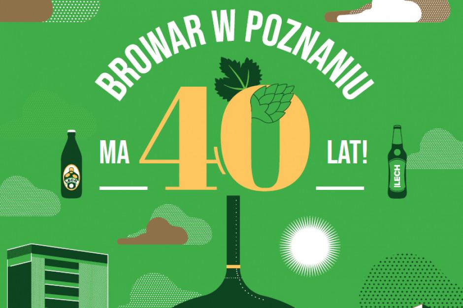 Lech świętuję 40 urodziny i rozbudowuje się. Browar przeznaczy 138 mln zł na inwestycje