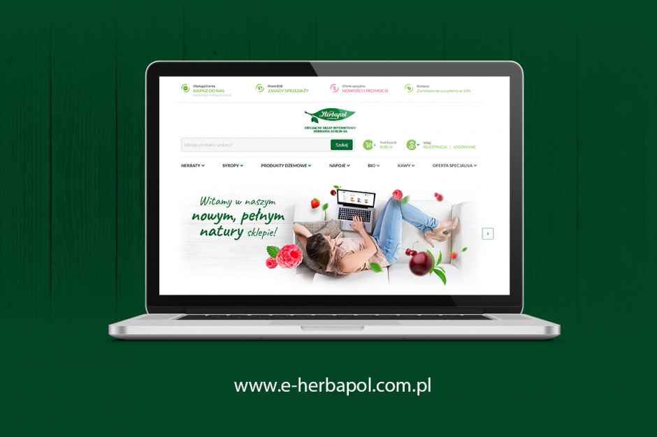 Herbapol-Lublin z nowym sklepem internetowym