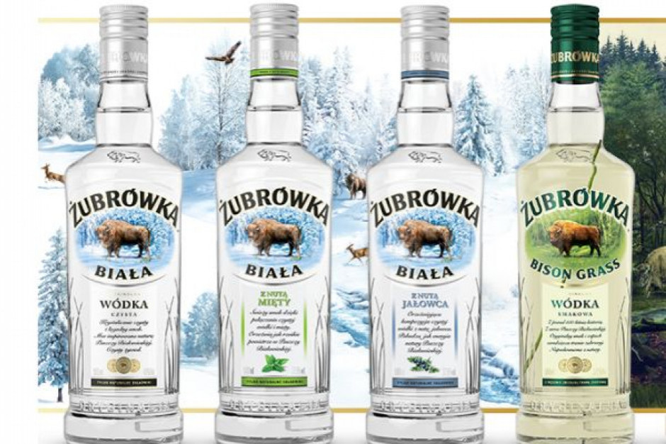 Żubrówka trzecią marką wódki na świecie, Soplica na 11 miejscu, a Krupnik na 13