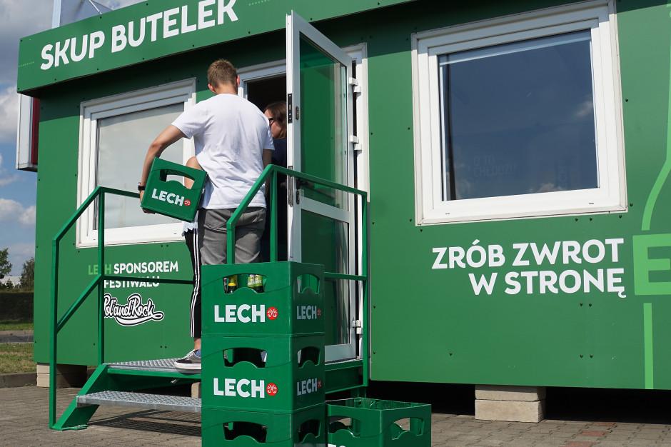 Kompania Piwowarska ponownie uruchomiła skup butelek zwrotnych