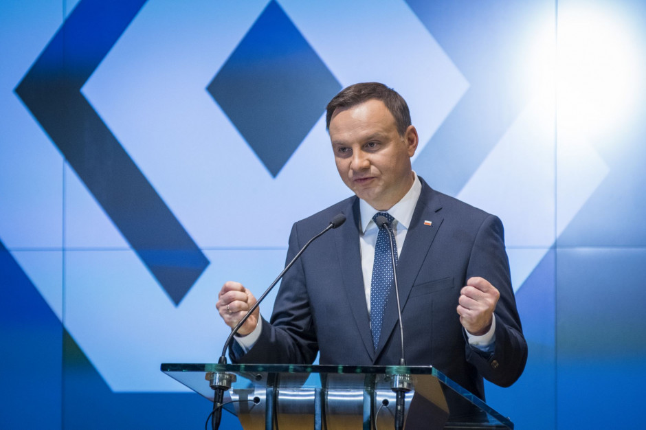 Prezydent: Dzięki polskim producentom nie zabrakło żywności na półkach