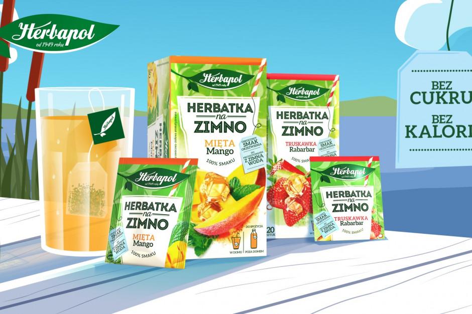 Marka Herbapol promuje herbatki typu cold brew (wideo)