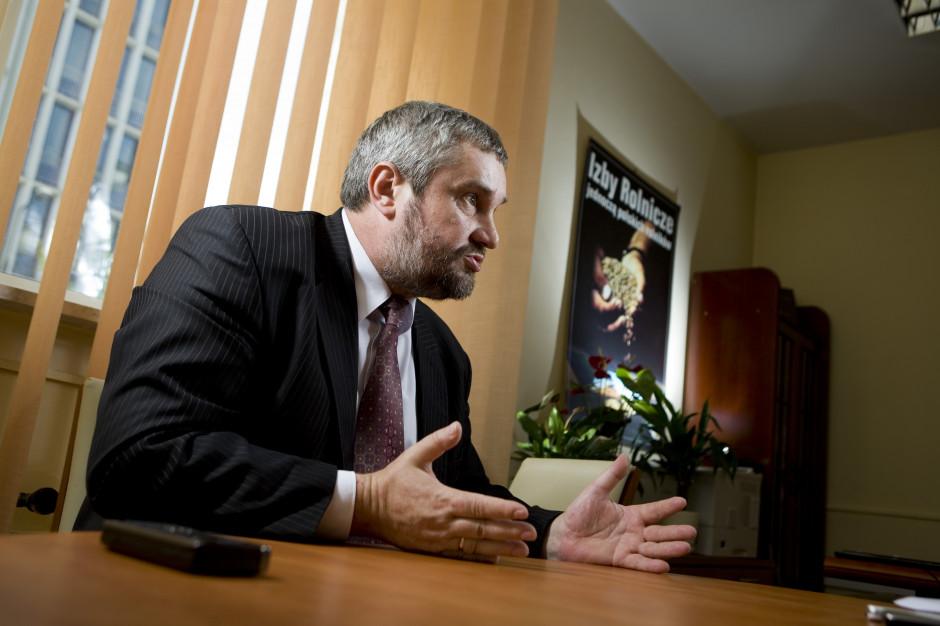 Ardanowski: Zielony Ład nie może być nadmiernym obciążeniem dla rolnictwa