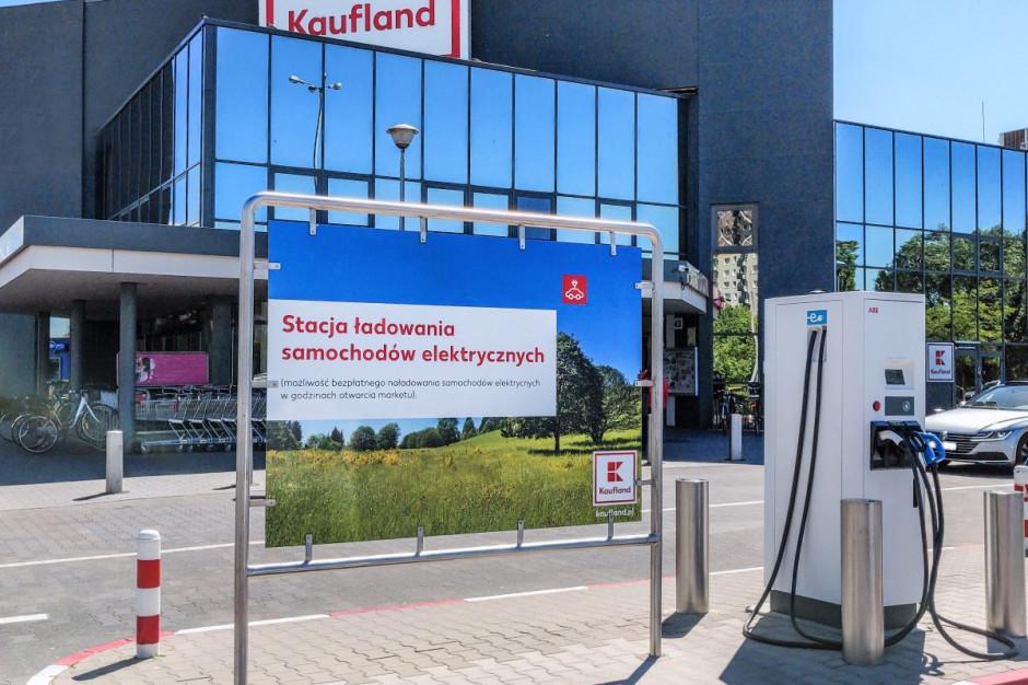 Kaufland rozwija własną sieć stacji ładowania samochodów elektrycznych