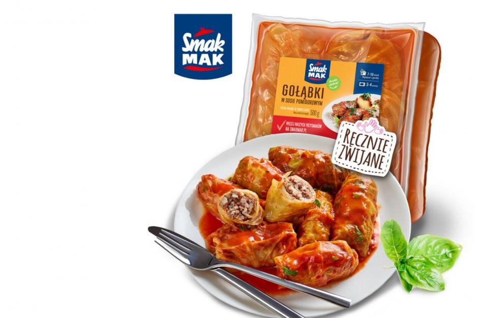 SmakMak wprowadza gołąbki w sosie pomidorowym i koperkowym