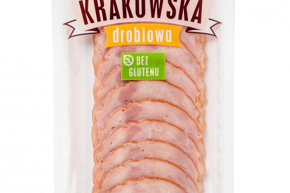 Pekpol wprowadza Krakowską drobiową bez glutenu w opakowaniu 50 g