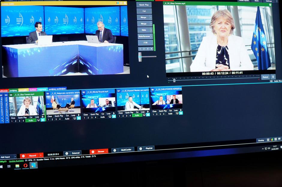 Ferreira na EEC Online: proponujemy przegląd polityki spójności w 2024 r. i uzupełnienie jej o 10 mld euro (wideo)