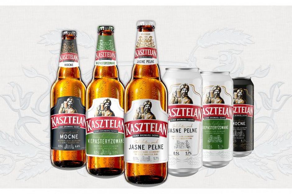 Regionalne piwo Kasztelan wchodzi do ogólnopolskiej dystrybucji i zmienia wizerunek