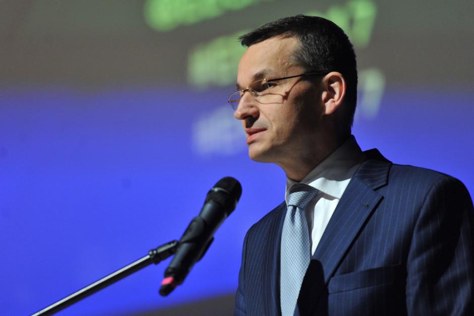 Morawiecki: Cały świat wierzy w nasz model gospodarczy
