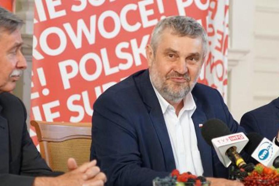 Ardanowski: Trzeba wyeliminować z rynku fałszowane produkty włożone w polskie opakowania