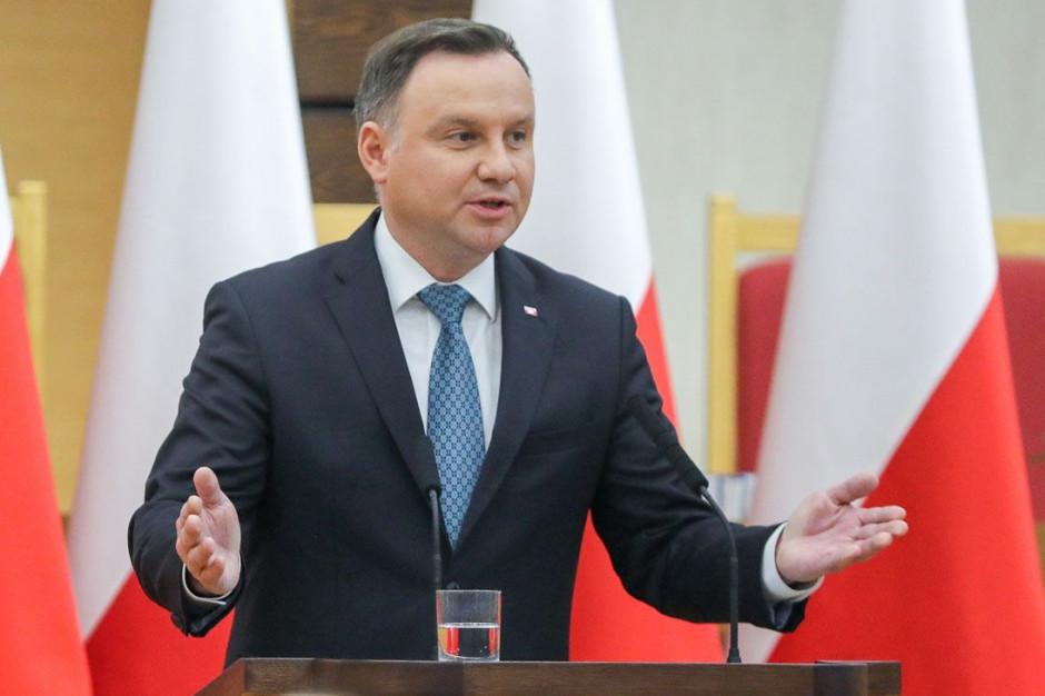 Prezydent zachęca do kupowania polskich produktów