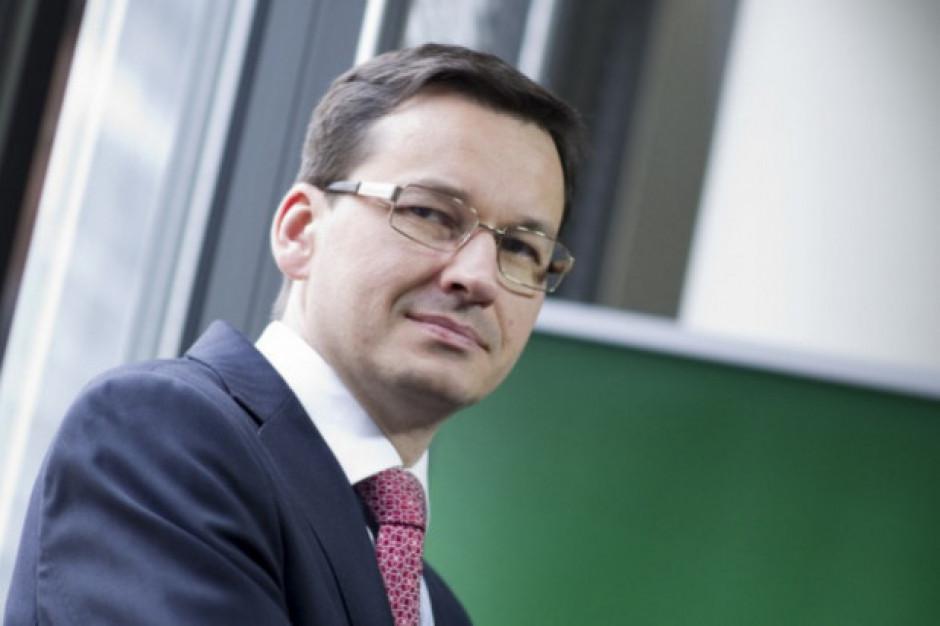 Morawiecki: Według prognoz szybko zniwelujemy krótkotrwałe spowolnienie