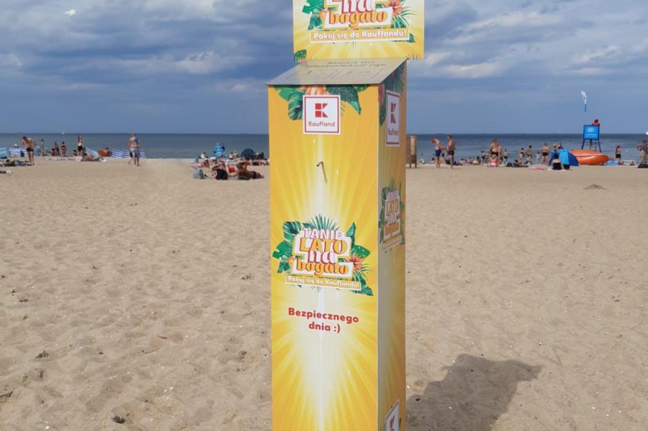 Kaufland ustawi stacje do dezynfekcji rąk w kurortach wakacyjnych