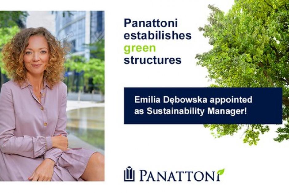 Panattoni tworzy zielone struktury. Emilia Dębowska została Sustainability Managerem