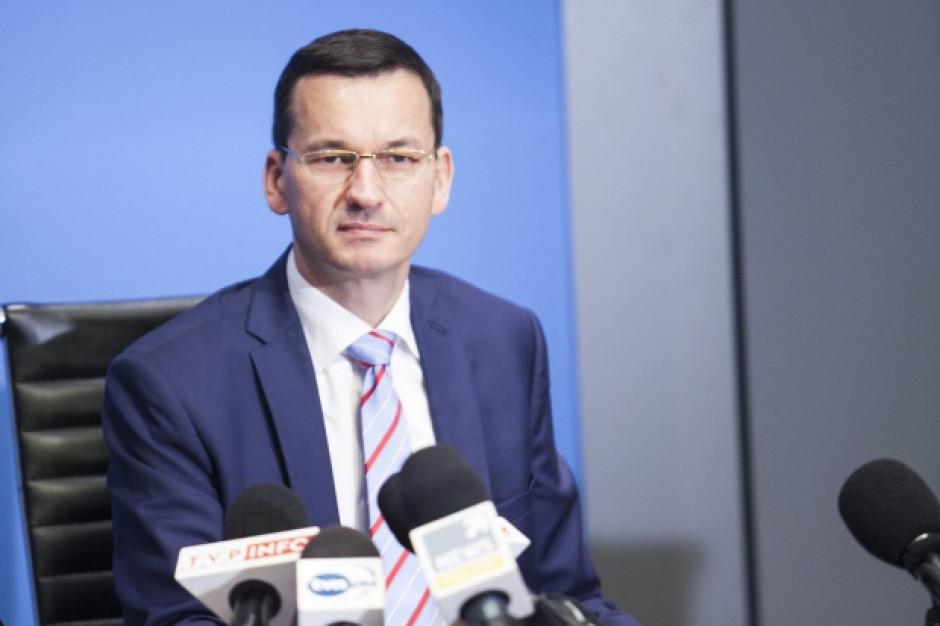 Morawiecki: Bardziej niż inflacji obawiam się deflacji