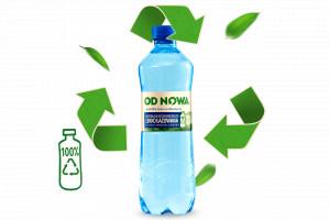 Żabka wprowadza własną markę wody mineralnej w butelce rPET
