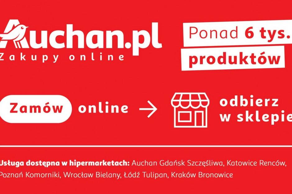 Auchan rusza z nową usługą click&collect
